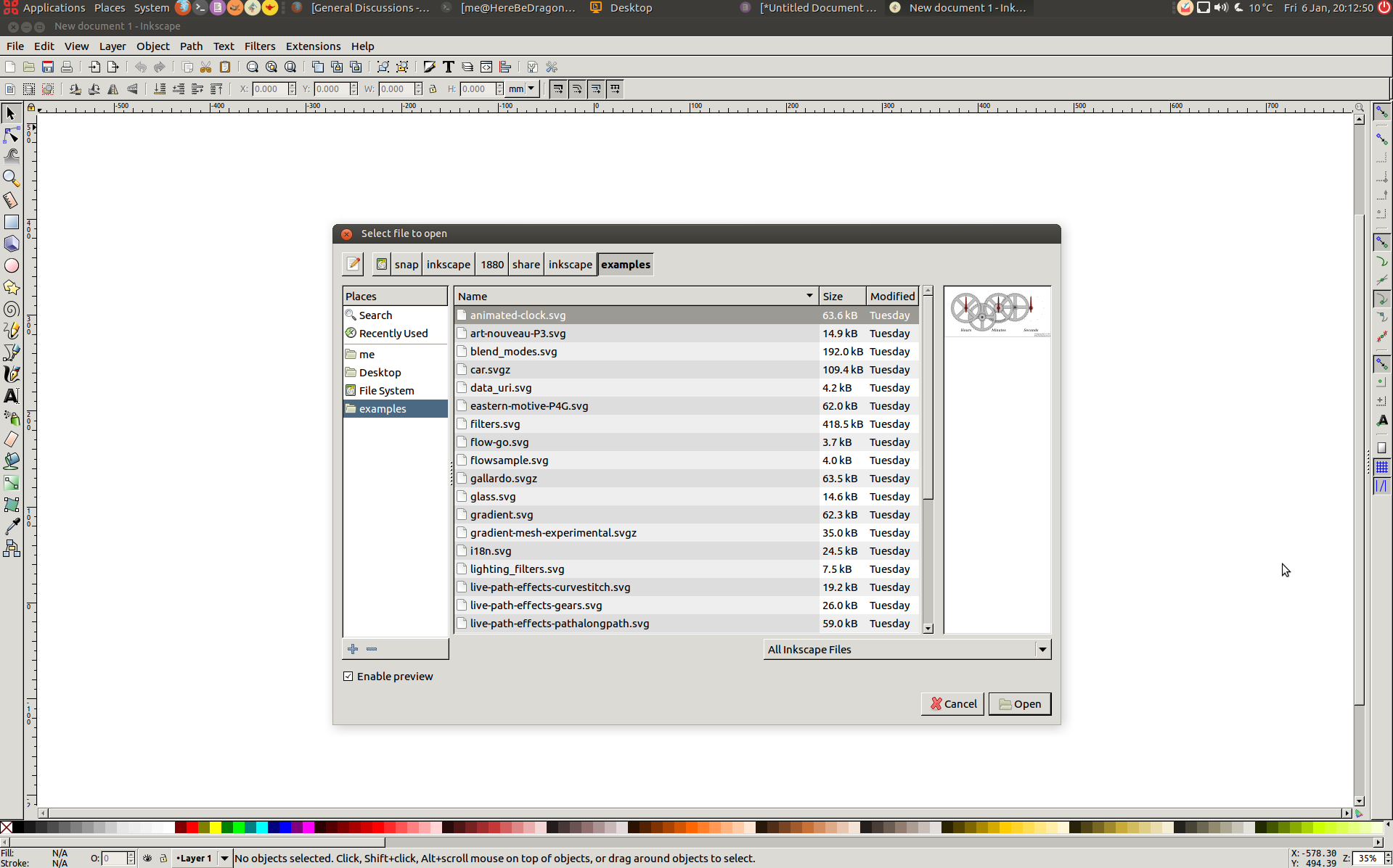 Installed 0 92 via snap on ubuntu - theme looks a bit